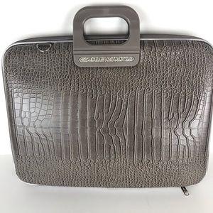 "Bombata Taupe Hard Firenze Classic Laptop 17"" Case"